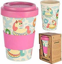 Bambus Kaffeebecher für den Coffee To Go mit
