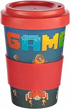 Bambus Kaffeebecher für den Coffee To Go mit Game