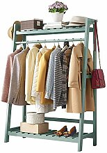 Bambus-Kleiderständer Tragbare,extra große