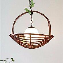 bambus kronleuchter landhausstil für bar und