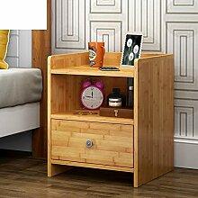 Bambus lagerschrank Einfache moderne kleine locker Nachttisch Einfaches schlafzimmer locker Aktenschränke Nachtschränke Nachtschrank-A