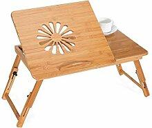 Bambus Laptop-Betttisch Schreibtisch