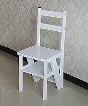 Bambus Leiterstuhl Leiter Stuhl Home Kreativ Multifunktion Vier Schichten Leiter Drinnen Leitern ( Farbe : 3# )