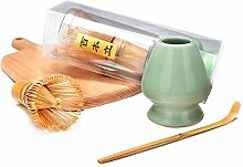 Bambus Matcha Tee Schneebesen Set (Chasen) Bambus
