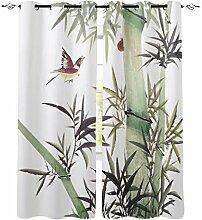 Bambus Moderne Fenster Vorhänge für Wohnzimmer