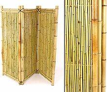 Bambus Paravent als Raumteiler mit 150x180cm -