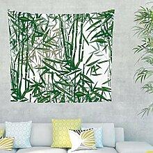 Bambus Pflanze Wandteppich Wandbehang Tuch