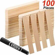 Bambus Pflanzen Etiketten Garten Holz Pfeile