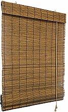 Bambus-Raffrollo 130 x 160cm, braun - Fenster Sichtschutz Rollos - VICTORIA M