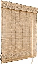 Bambus Raffrollo 150 x 220cm in natur - Fenster Sichtschutz Rollos - VICTORIA M