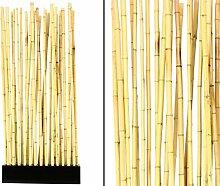 Bambus Raumteiler Paris1 mit ca. 90x12x205cm,