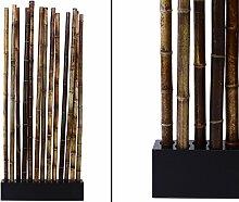Bambus Raumteiler Paris4 mit ca. 90x12x205cm,