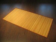 Bambus Teppich 160 x 230 cm Bambusteppich - 17mm Bambusbreite