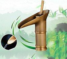 Bambus Typ Badarmatur Nostalgie Wasserhahn YUNRUX