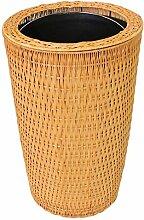 Bambus und Rattan Möbel Haushalt Badezimmer , 8l yellow