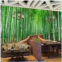 Bambus Wald Kleine Straße Benutzerdefinierte 3D