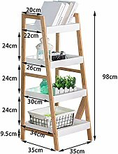 Bambus WohnZimmer Leiter Bücherregal Studenten