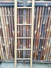 Bambusleiter cappucion Leiter Handtuchhalter