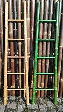 Bambusleiter Leiter Handtuchhalter Bambus 180 cm x