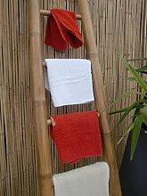 Bambusleiter Leiter Handtuchhalter Bambus 200 cm x