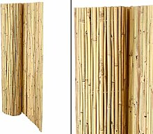 Bambusmatte Bali, extrem stabil, 150 x 300 cm, mit