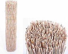 Bambusmatte Rio eco Modell, Bambus Sichtschutz günstig mit 180 x 500 cm - Sichtschutzzäune Sichtschutzwand Gartensichtschutz Balkonsichtschutz Winschutz Sichtschutzwand für Garten und Terasse Blichschutz für Balkon Sichtschutzwände Sichtschutzwände  --> großes Sortiment an Sichtschutz, Bambus, Schilf und Naturprodukte für Garten
