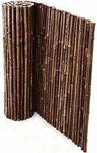 Bambusmatte schwarz-braun, sehr stabile