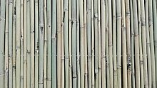 Bambusmatte Sichtschutz Bambus Gartenzaun Windschutz Sichtschutzmatte 100 x 300 Schilfrohrmatte Weidenmatte Rindenmatte