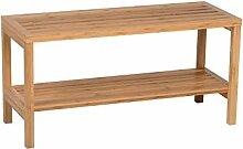 Bambusregal Regal Bambus 80x30x40 2Fächer