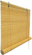 Bambusrollo 120 x 220cm, bambus - Fenster Sichtschutzrollo - VICTORIA M