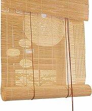 Bambusrollo 40% Lichtfilter Bamboo Roll Up