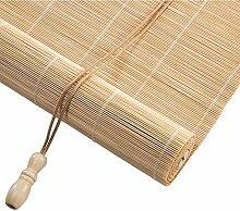 Bambusrollo 50% Lichtfilterung Roll Up Fenster