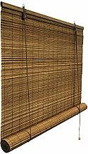 Bambusrollo 60 x 160 cm in braun - Fenster Sichtschutz Rollos - VICTORIA M