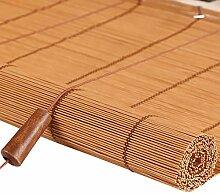 Bambusrollo Bambus Rollos, Horizontal Fenster