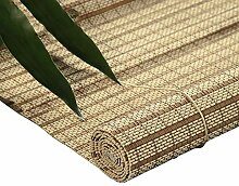 Bambusrollo- Bambus-Rollos mit Volant,