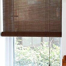 Bambusrollo Natürlicher Bambus Rollt Oben Den