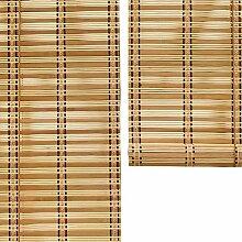 Bambusrollo Natürlicher Bambusvorhang Mit