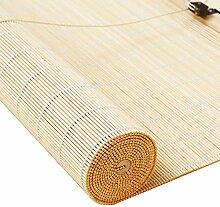 Bambusrollo- Natürliches Raffrollo Bambus für