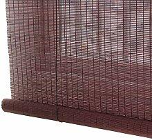 Bambusrollo- Patio Bambus Rollos mit Haken, 85%