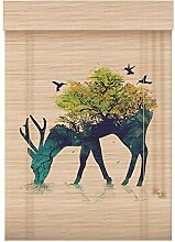 Bambusrollo Raffrollos Bambus Rollo, Holz