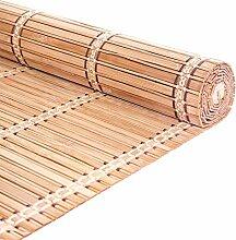 Bambusrollo Raffrollos Trennwand-Bambusvorhang for