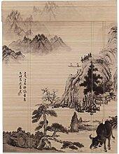 Bambusrollo Rollo-Bambusvorhang, orientalische