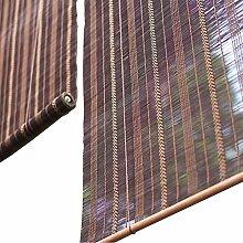 Bambusrollo- Walnuss Farbe Bambusrollos für den