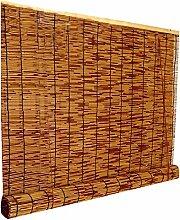 Bambusrollos Reed Vorhang Retro abschneiden