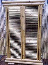 Bambusschrank Kleiderschrank Bambus Schrank