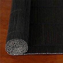 Bambusvorhang Schwarzer feiner