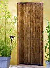 Bambusvorhang Türvorhang Saigon 90x200 cm mit 90