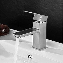 Banalili Auf Den Mischer 304 Töpfe Square Waschtischmischer Sitzbank Becken Klicken Sie Double-Control
