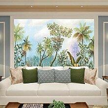 Bananenblatt wallpaper mural_kokosnussbaum