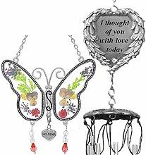 BANBERRY DESIGNS Windspiel und Schmetterling